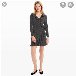 Club Monaco Vontella Ruffle Wrap Dress